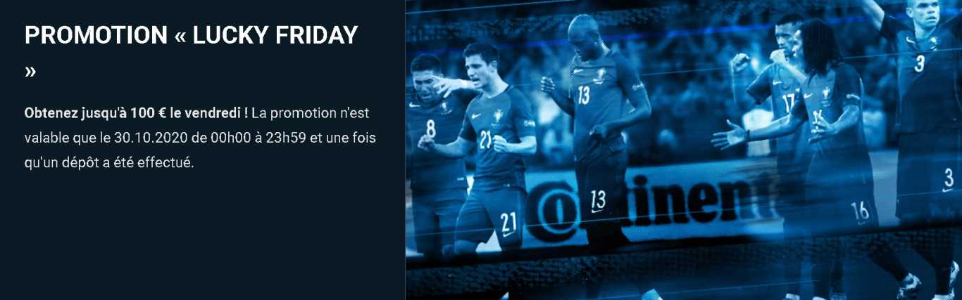 1xBet Lucky Friday bonus